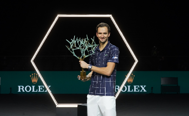 Rolex Paris Masters : Medvedev, le combattant