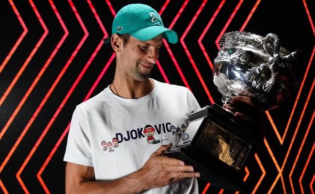 Novak Djokovic et son jardin du bout du monde